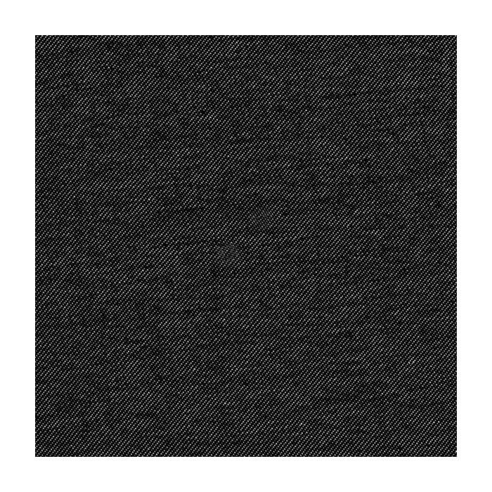 Tissu jersey bio jeans noir - C. Pauli