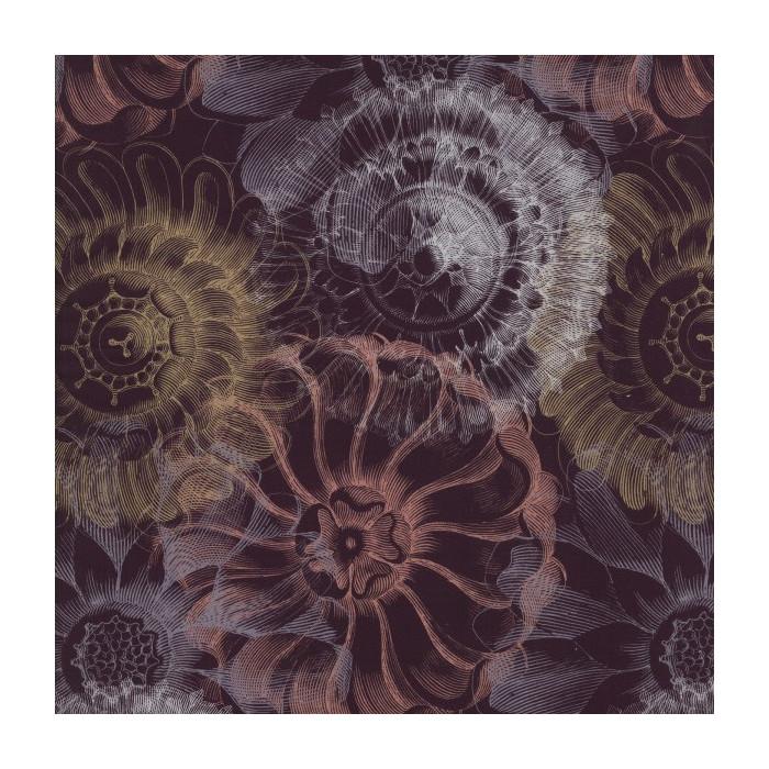 Popeline bio fleurs vintage - C. Pauli
