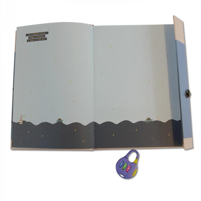 Carnet intime - bullet journal bleu