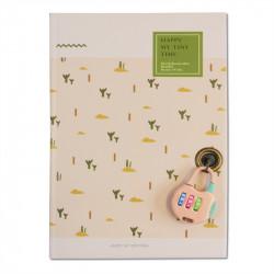 Carnet intime - bullet journal rose