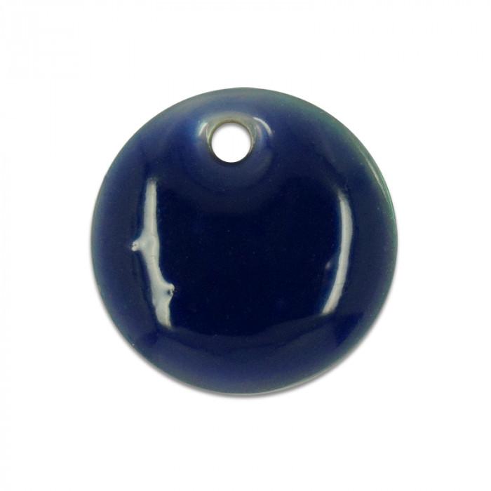 Sequin nacre émaillée 13 mm violet x1
