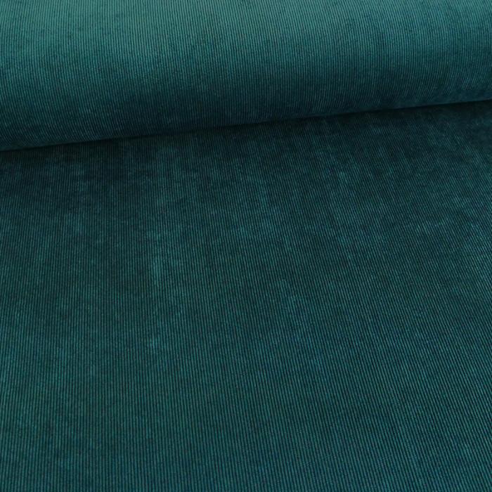 Velours milleraies stretch canard x 10 cm