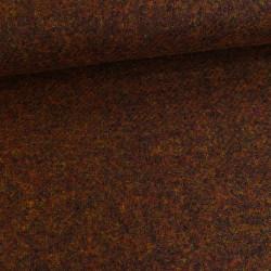 Tissu lainage chiné d'automne