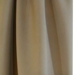 Tissu double crêpe - sable x 10 cm