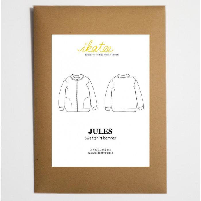 Sweatshirt bomber Jules - Ikatee