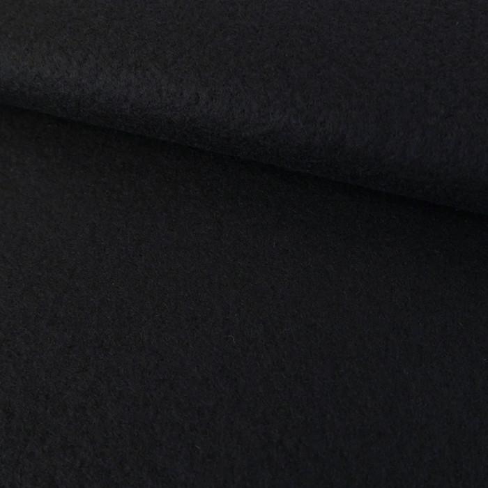 Tissu lainage caban - bleu marine x 10 cm