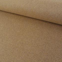 Tissu lainage recto polaire - camel x 10 cm