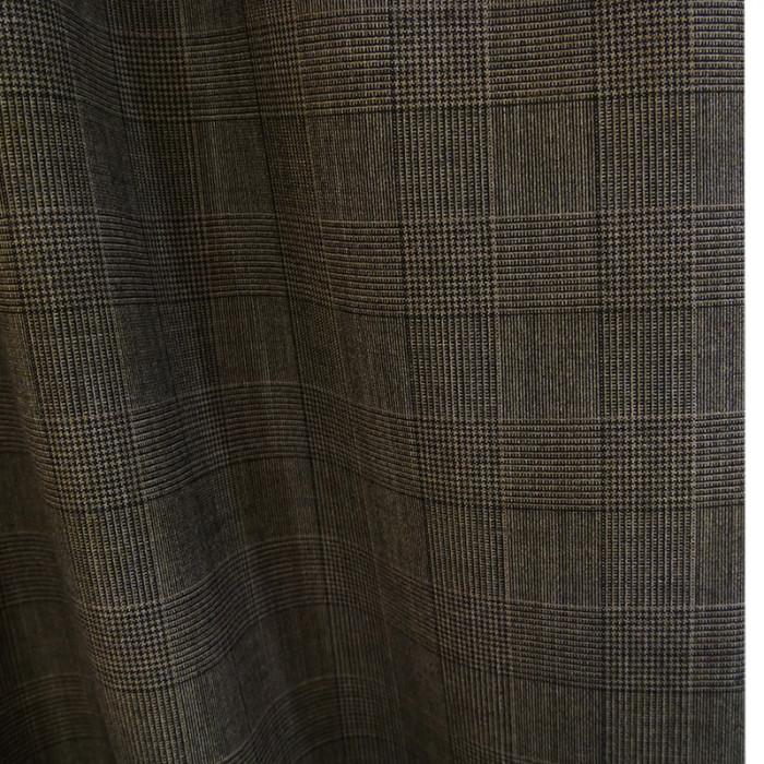 tissu lainage prince de galles marron tissu fin de. Black Bedroom Furniture Sets. Home Design Ideas
