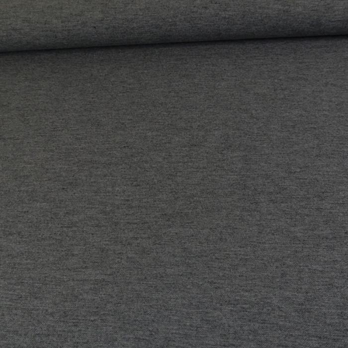 Tissu jersey viscose laine - gris x 10 cm