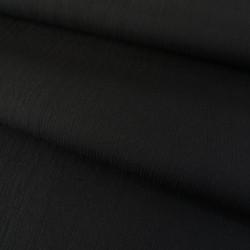 Tissu gaufré - noir x 10 cm