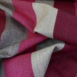 Tissu Pronto Stof - Prune x 10 cm