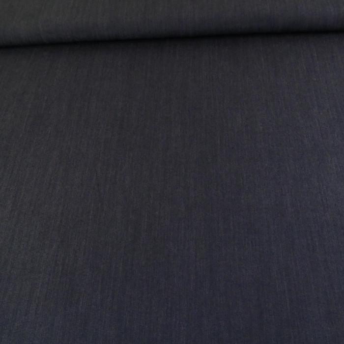 Viscose élasthanne jeans - bleu x 10 cm