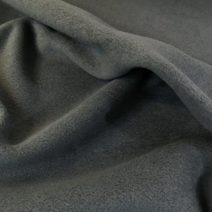 Tissu Polaire - gris foncé x 10 cm