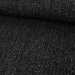 Tissu Jean élasthane denim - noir x 10 cm