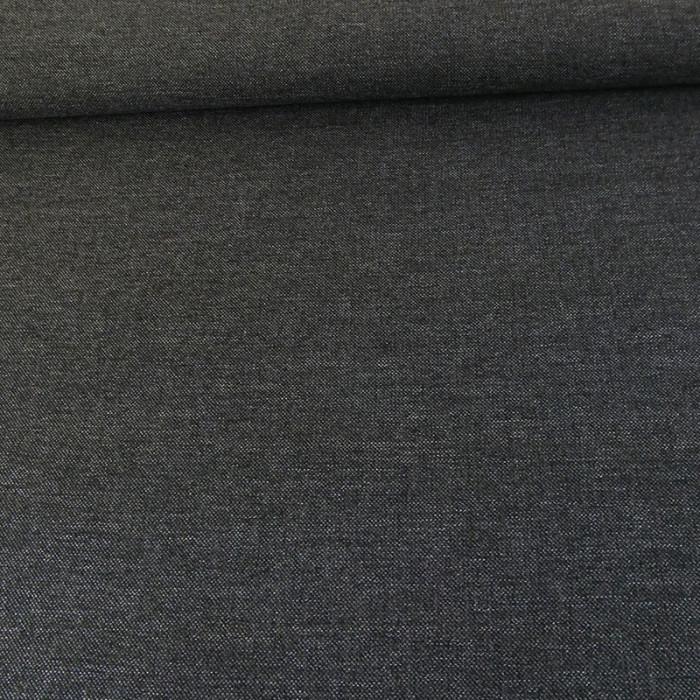 Tissu lainage léger - gris x 10 cm