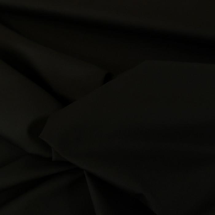 Tissu denim chino élasthane - noir x 10 cm