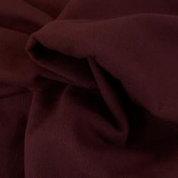 Tissu lainage manteau - bordeaux x 10 cm