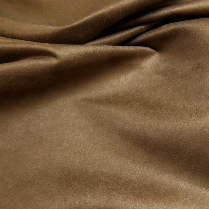 Tissu Suédine - Havane x 10 cm