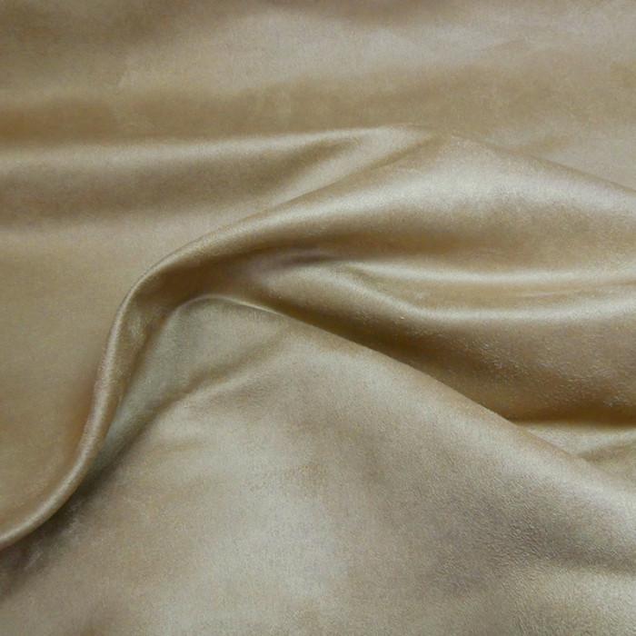 Tissu Suédine - Cannelle x 10 cm