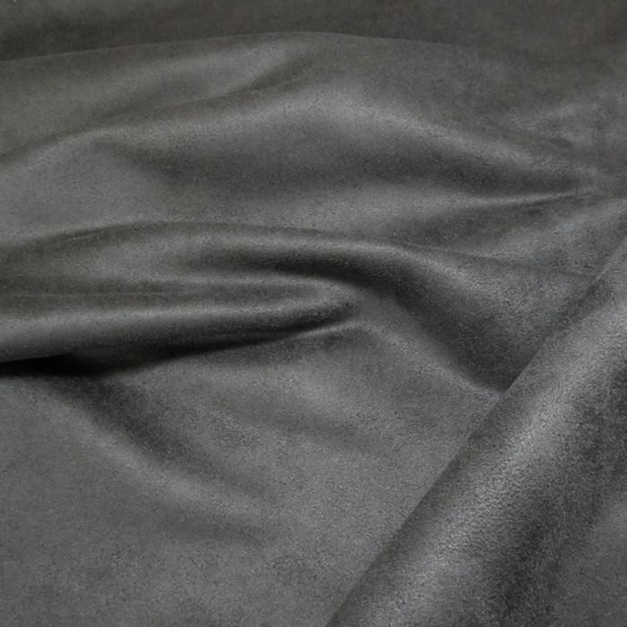 Tissu Suédine - Fer x 10 cm