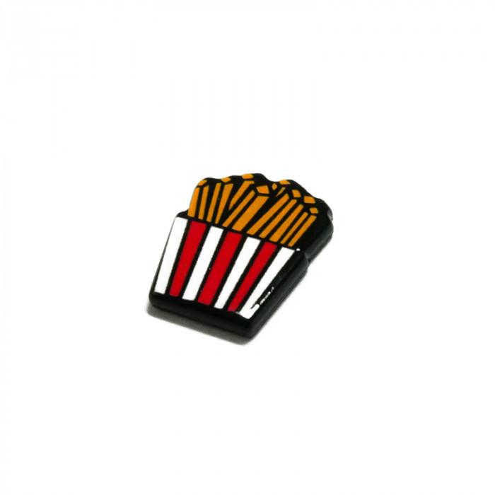 """Elément en résine à coller """"frites"""" x1"""
