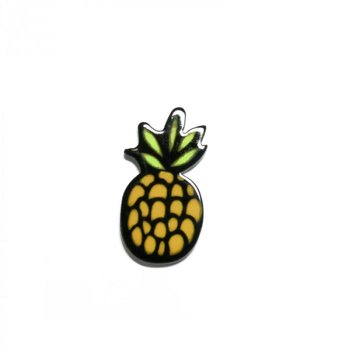 """Elément en résine à coller """"Ananas"""" (petit) x1"""