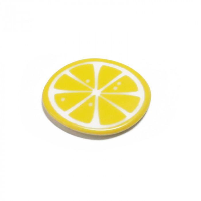 """Elément en résine à coller """"Citron"""" x1"""