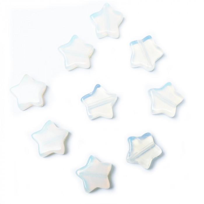 Perle étoile pierre de lune 13 mm x1