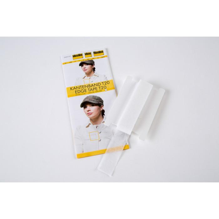 Renfort de lisière Vlieseline T20 - Blanc
