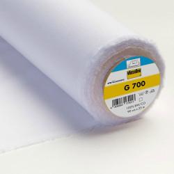 Entoilage thermocollant tissé Vlieseline G700 - blanc