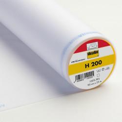 Entoilage thermocollant Vlieseline H200 - Blanc