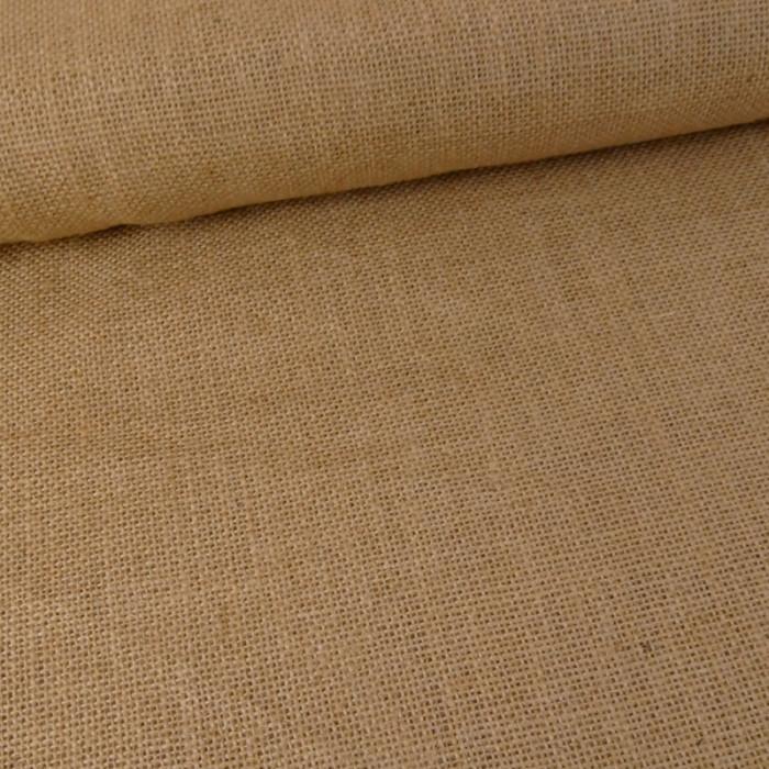 tissu toile de jute jaune atelier de la cr ation. Black Bedroom Furniture Sets. Home Design Ideas