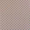 Tissu cretonne éventails dorés - rose x 10 cm