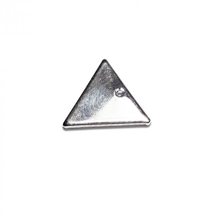 Breloque triangle argent x1