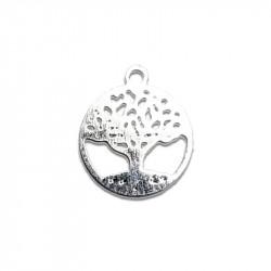 Breloque arbre de vie argent x1