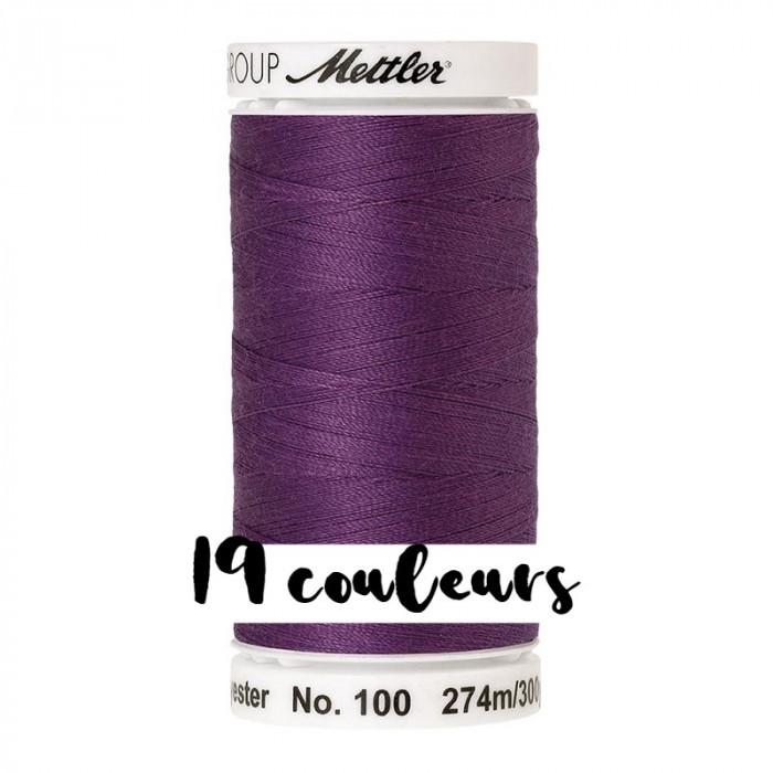Fil à coudre violet Seralon 274 m Mettler