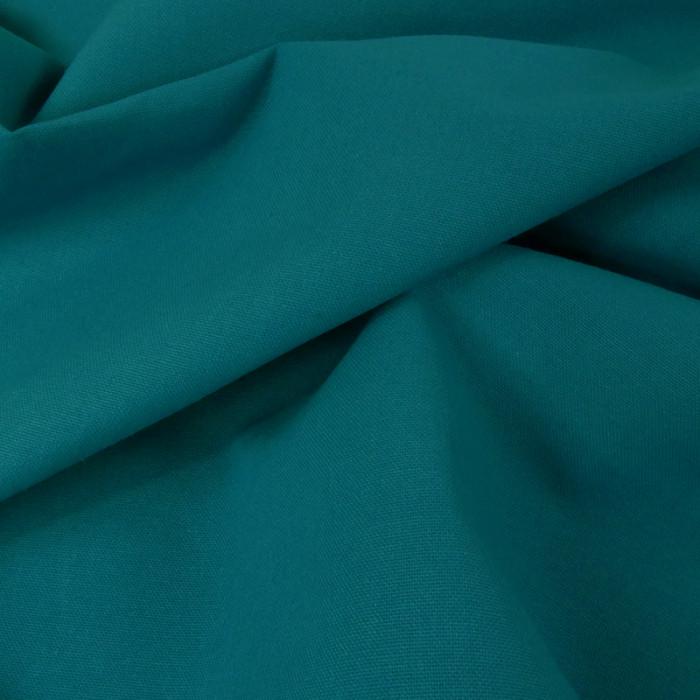 Tissu coton natté grande largeur - Canard x 10 cm