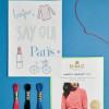 "Magic Paper - Kit broderie DMC ""Paris"""