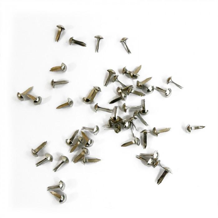 Mini clous 5mm argent x100
