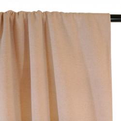 Tissu molleton sweat nude lurex doré
