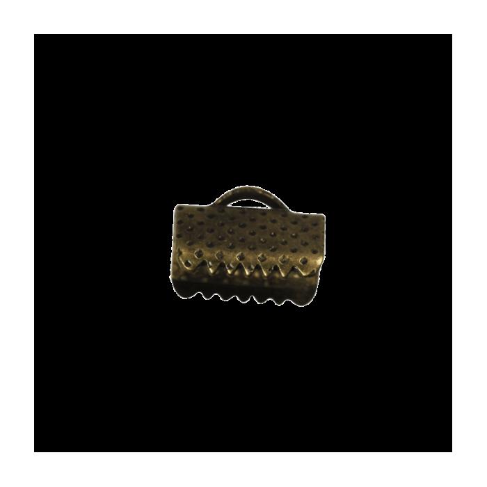 Embouts de serrage ruban bronze 10mm x10