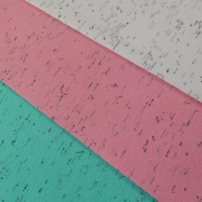 bord-côte tubulaire chiné x 10 cm