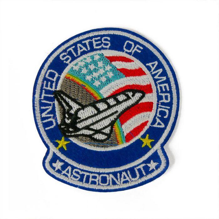 Ecusson thermocollant astronaute (petit)