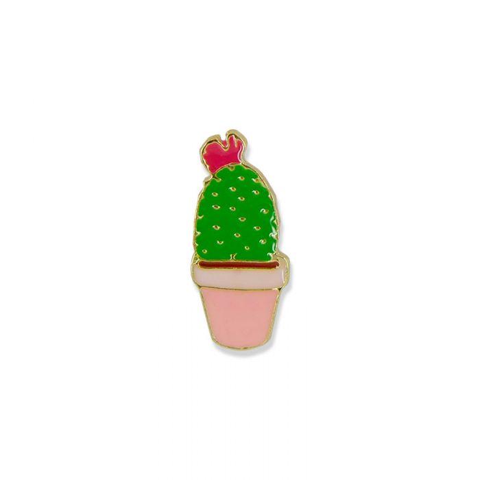 Pin's petit cactus en pot