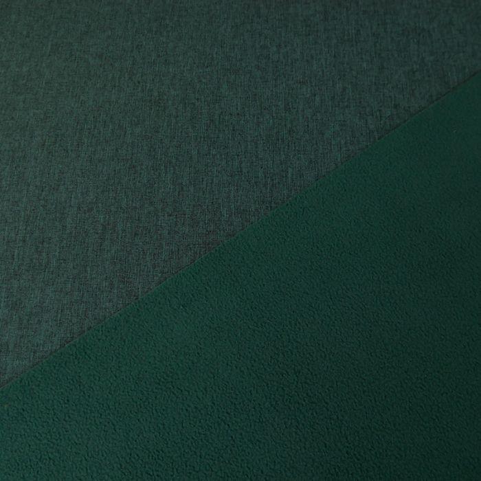 Tissu softshell déperlant chiné - vert x 10 cm