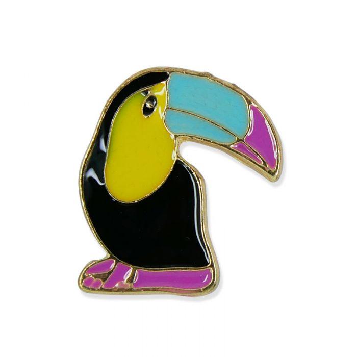 Pin's toucan