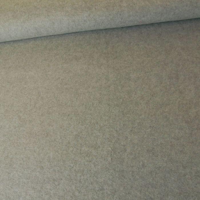 Tissu polaire - gris souris x 10 cm