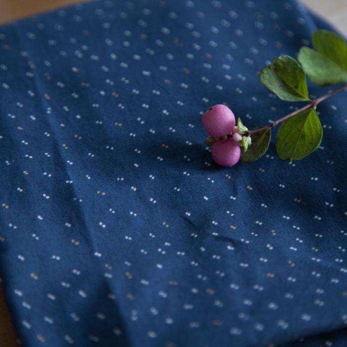 Passepoil Sparkle midnight blue - Atelier Brunette x 10 cm