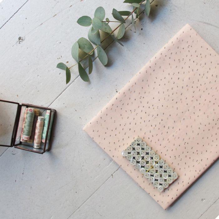 Passepoil Sparkle powder Gold - Atelier Brunette x 10 cm