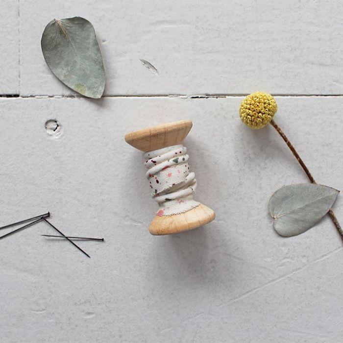 Passepoil terrazzo Shell - Atelier Brunette x 10 cm